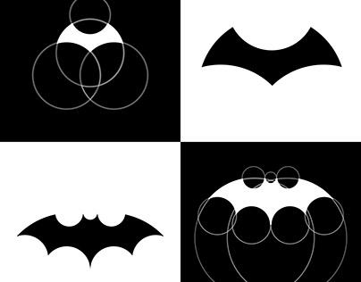 BATMAN logo creation