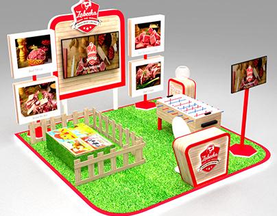 Zabeeha Setup For Mall Activity