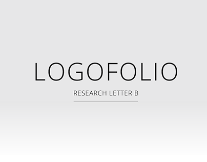Logofolio Research Letter B