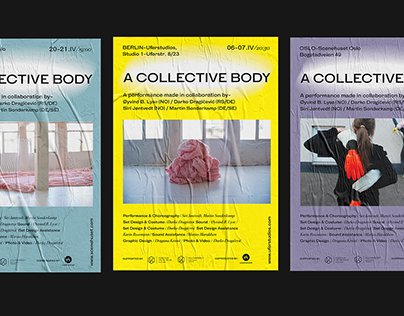 """""""A Collective Body"""" Performance Poster"""