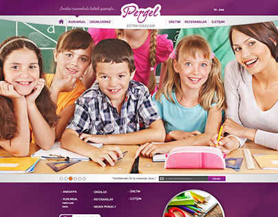 Pergel Eğitim Gereçleri Web Site