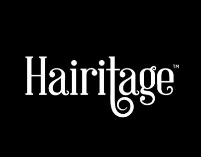HAIRITAGE VISUAL IDENTITY