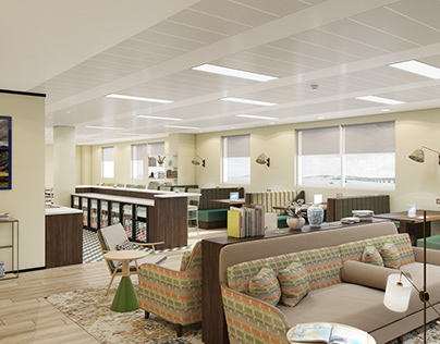 Dundee One - Office Visualisation