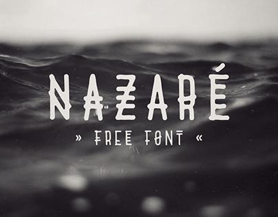 Nazaré - free font