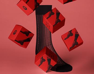 MEN in socks