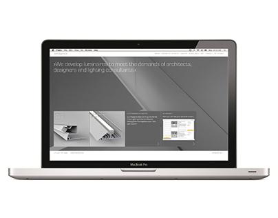 Whitegoods Lighting Website Re-Launch