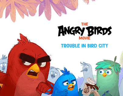 Angry Birds - Trouble in Bird City