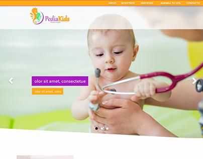 Diseño Sitio Web Pediakids.cl