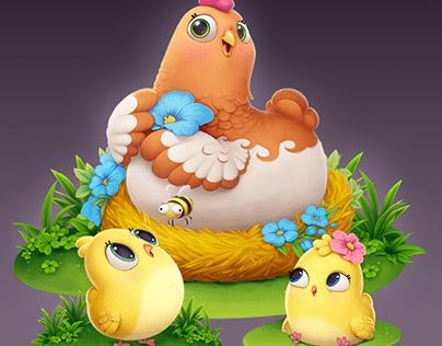 Characters animal Taonga™