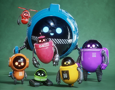 The Cute Robot Squad