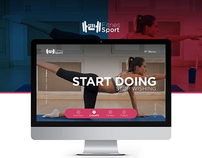 Fitness Sport Web Design