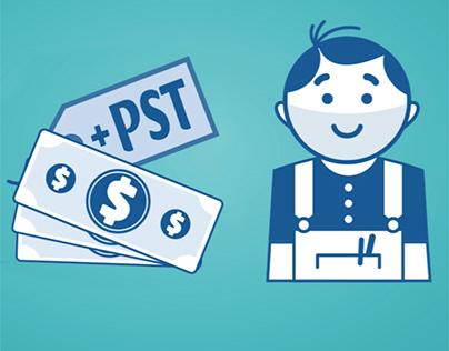 Provincial Sales Tax for Contractors - Videos