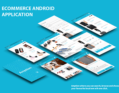 Amption Ecommerce Android Application
