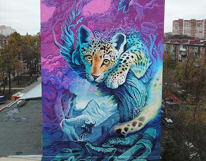 mural for WWF