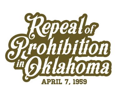 Repeal Prohibition glassware logo