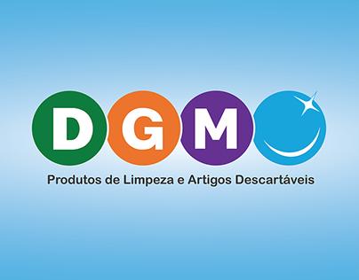 Logo - DGM Produtos de Limpeza