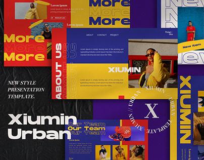 Xiumin Urban Presentation Template