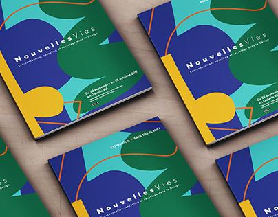 """""""Nouvelles Vie"""" Exhibition publishing"""
