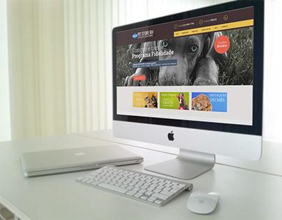 Pet Store BH loja virtual