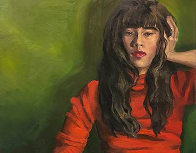 Fall Painting: Final Portrait