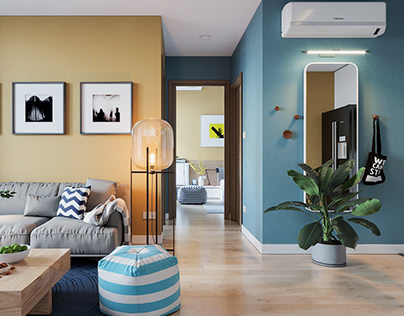 Colorful apartment by Duc Nguyen