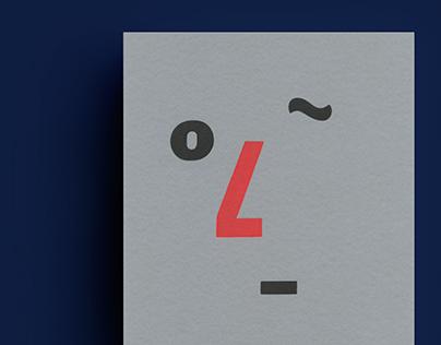 Olfaction : Letterpress
