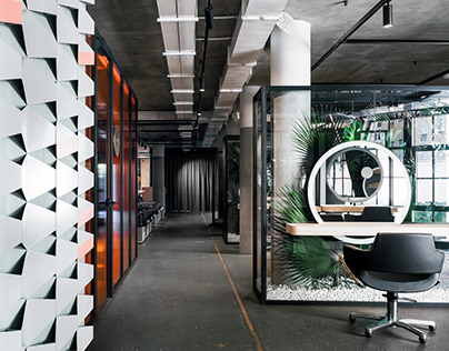 Office da architects Nutritionfood Glamy Spot Mhtn Architects Da Design Architecture On Behance