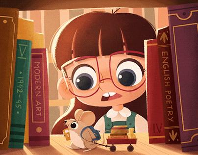 The Little Scholar