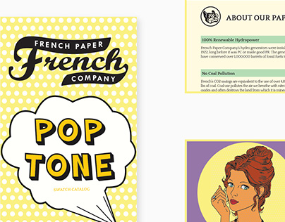 Uni Assignment: French Paper- Pop Tone Paper Catalog