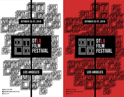 DTLA Film Festival | Graphic Design