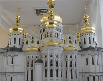 Assumption Cathedral of Kiev-Pechersk Lavra (model)