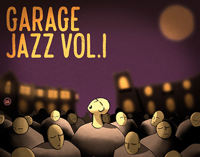 Special artwork for Garage jazz Vol. I