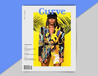 Curve Magazine Redesign