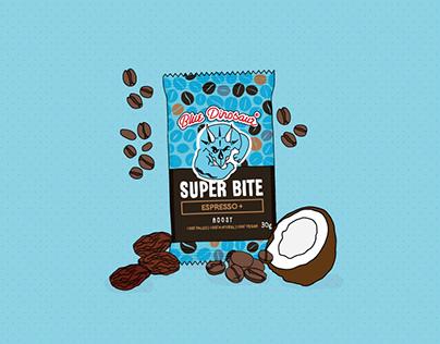 Blue Dinosaur Bars: Super Bites