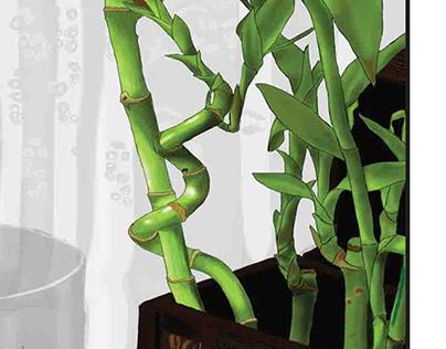 lucky bamboo font