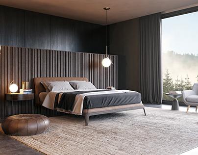 Bed room poliform