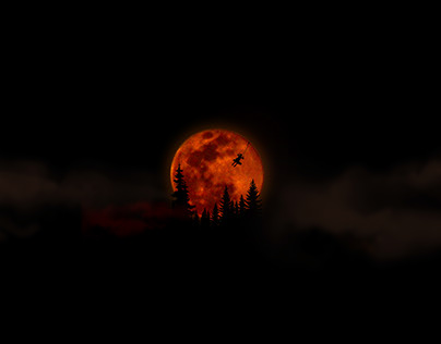 Lunar eclipse | Photography | Manipulation