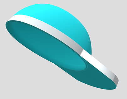 Simple sports cap