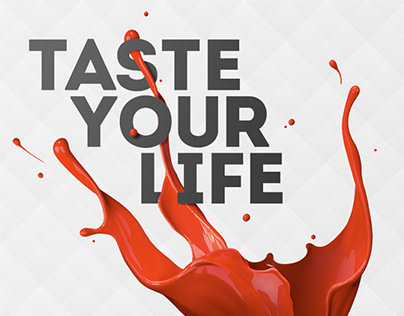 Taste Your Life—Keyvisual