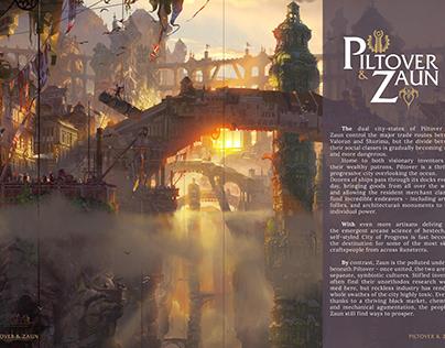 Realms of Runeterra reimagined book