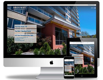 2018 Website Design Dreyfuss Management