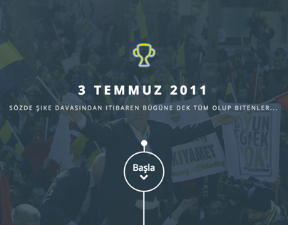 Crisis in Turkish Football | Concepting + Website