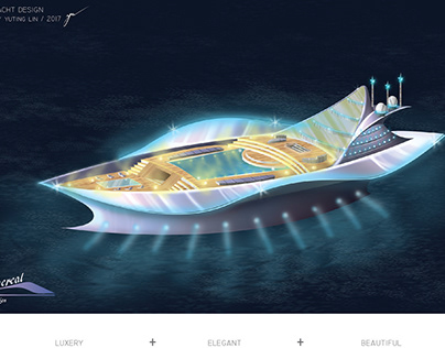 Transportation Design-Luxury Yacht