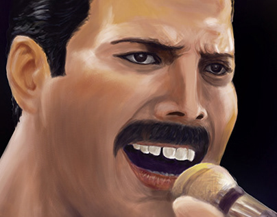 Freddie Mercury / digital painting