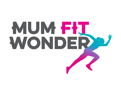 Mum Fit Wonder logo & brand