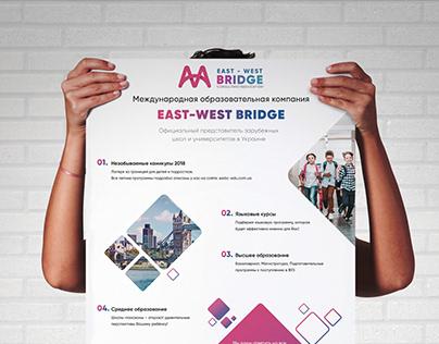 Фирменный стиль для компании East-West Bridge