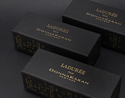 Ladurée Special Edition Box for Donna Karan NYFW
