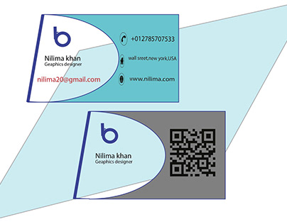 My new simple business card