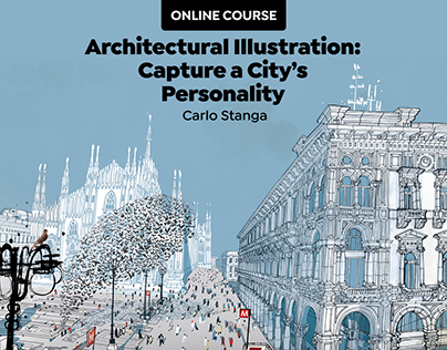 MY ONLINE COURSE: Architectural illustration