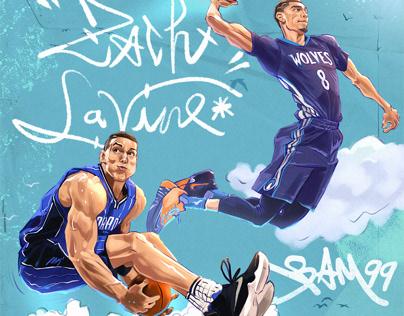 """NBA 2016 Dunk Contest """"LaVine vs Gordon"""""""